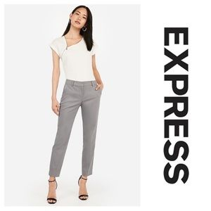 Gray Columnist Pants by Express. Plus size 16 R